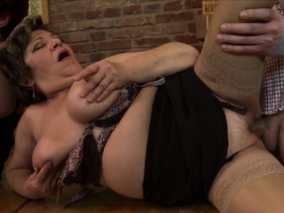 Fat dick makes naughty girls happy