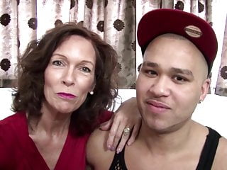 Real mature mom fucked by young not her son
