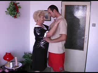 Blond Amateur Granny