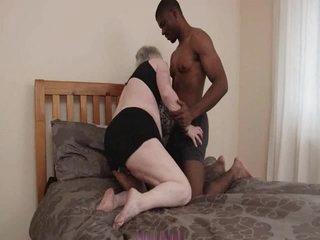 Caroline Granny Black Cock