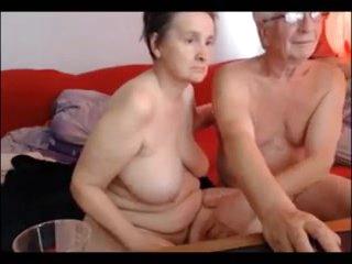 Grandpa and grandma have sex