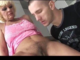 Hospitable hairy granny