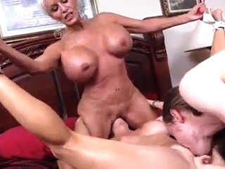 A Gilf, a Milf, and one lucky dude.