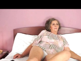 Sexy grandma and junior