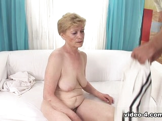 Lady & Steve Q in I Wanna Cum Inside Your Grandma #07 Video