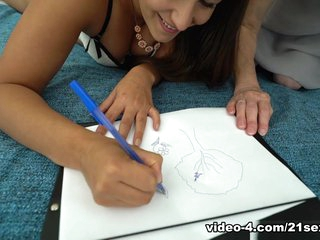 Cindy Loarn & Milly in Doodling with Grandma - 21Sextreme